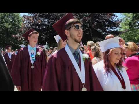 George Stevens Academy 2016 Commencement