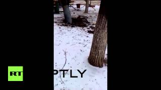 Ukraine: Kramatorsk rocket damage up close, five reported dead