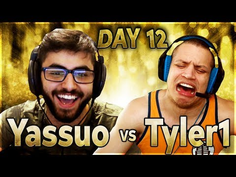 THE DIAMOND 1 STRUGGLES | YASSUO VS TYLER1 - $10K BET: DAY 12