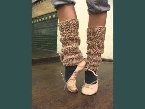 Knitting Patterns For Leg Warmers For Ballet : Picture Collection Of Ballet Footwear Ballet Leg Warmers Romance - YouTube