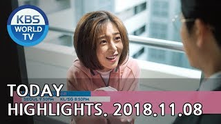 Today Highlights-Sunny Again Tomorrow E120/Feel Good To Die E1-2/Happy Together[2018.11.08]