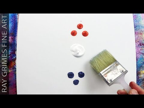 Easy Acrylic Painting For Beginners / Landscape / 268 / Satisfying Demonstration on Canvas