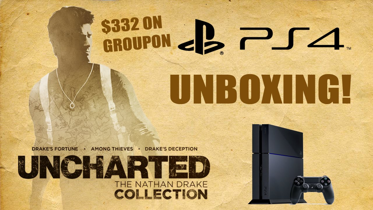 Uncharted Collection Ps4 Bundle Unboxing 332 On Groupon