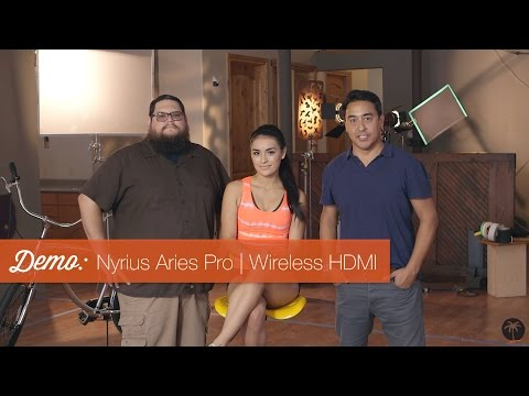 Nyrius Aries Pro (Wireless HDMI) + C100 + Ronin