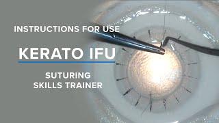 BIONIKO KERATO - Corneal Suturing Task Trainer