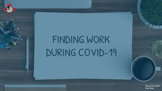 Finding Work During Covid-19 | Day 1 National Virtual Educational Rally 2020 | MKAC