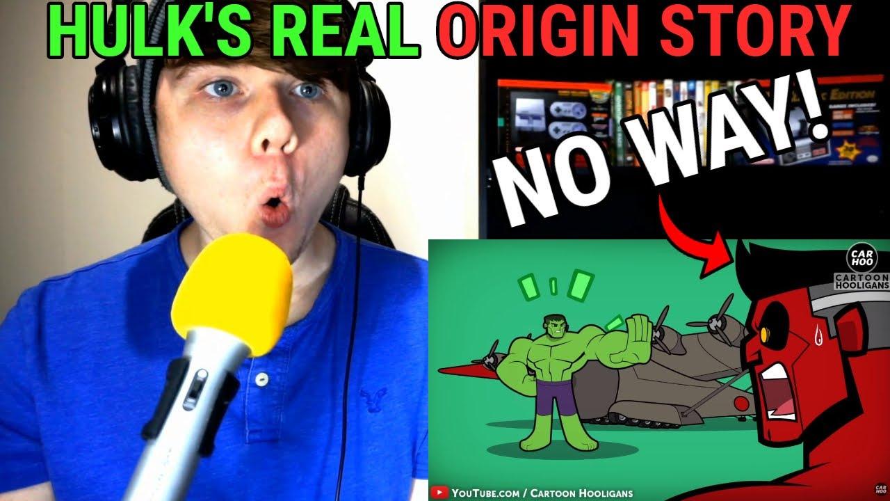 Download HULK's REAL ORIGIN STORY @CartoonHooligans REACTION!