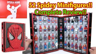 Review SY1461 Spider Book (Spider-Man Minifigures Collection) Lego Bootleg Sheng Yuan S牌蜘蛛俠 樂高積木書
