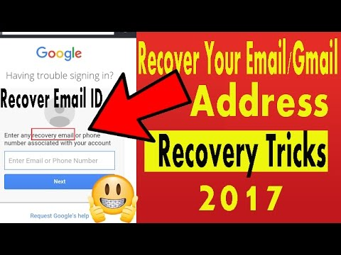How to recover gmail id with recovery email