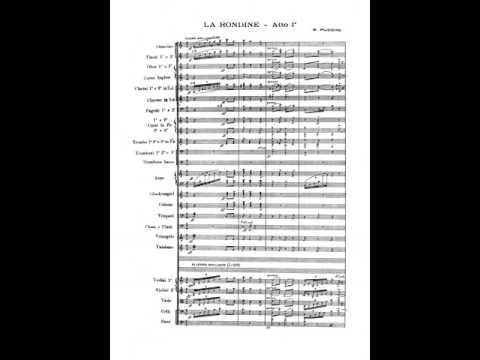 Puccini: La Rondine, Act I - Eva de Luca, Giacinto Prandelli, cond. del Cupolo (1953)