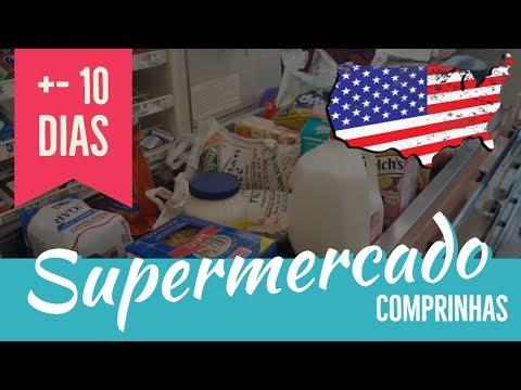 Vamos ao Mercado? Comprinhas para 10 Dias +- Estados Unidos