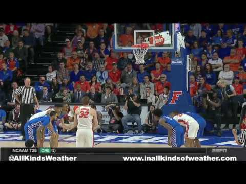 2017 (MBB) #24 Florida Gators vs. #8 Kentucky Wildcats