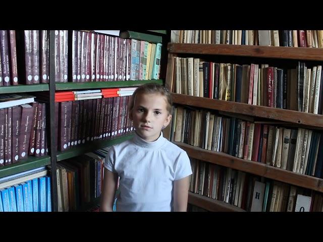 Изображение предпросмотра прочтения – ДарьяПопенко читает произведение «Осень.» И.С.Тургенева