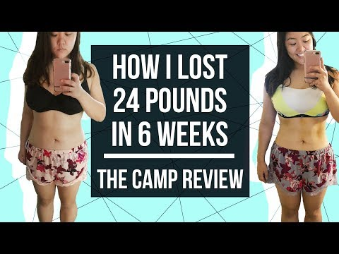 how-i-lost-24-pounds-in-6-weeks-|-the-camp-review