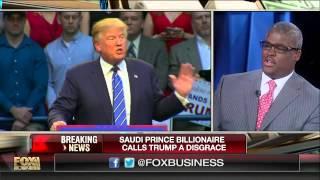 Saudi Prince Alwaleed calls Trump a 'disgrace' to America