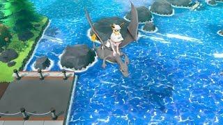ALL SHINY Riding Pokemon Let's Go Pikachu Eevee
