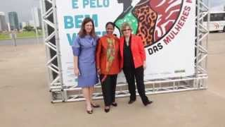 UN Women Executive Director meeting with women's groups, Brazil