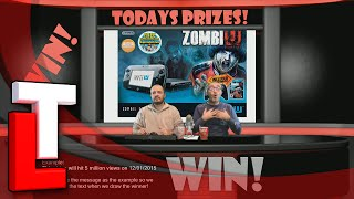 Win a ZombiU Deluxe Set Wii U Console on Win - Giveaway on Tube Loot
