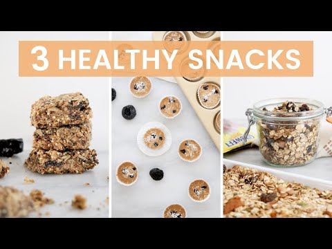 3 Simple & Healthy Snack Ideas! Gluten-Free & Dairy-Free Recipes