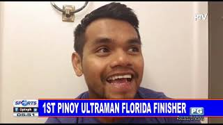 @ PTV Sports1st Pinoy Ultraman Florida finisher in