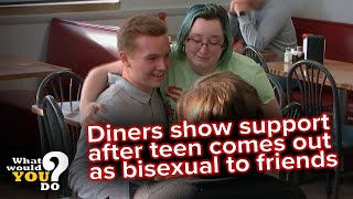 Friends reject young man for coming out as bisexual | WWYD