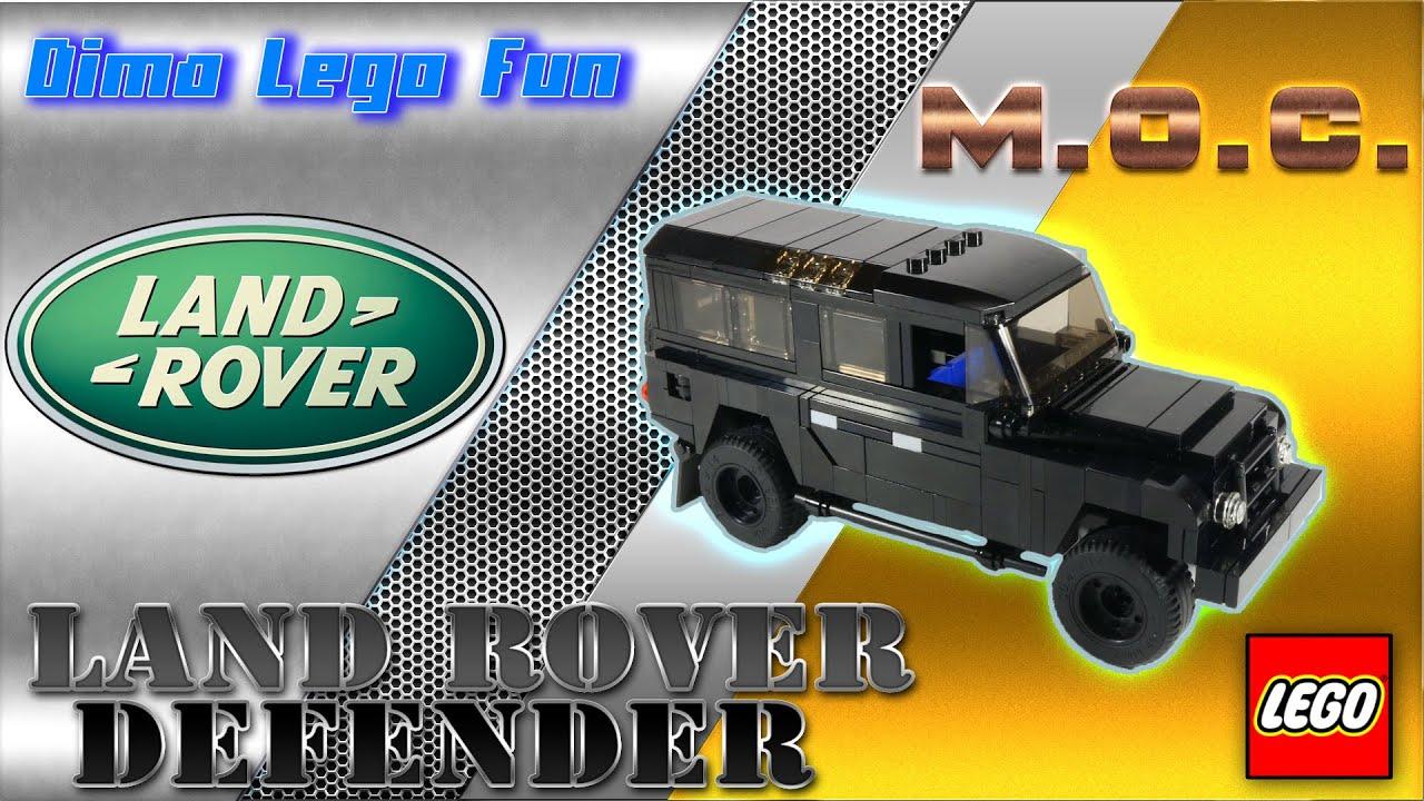 Rover Com Reviews >> Land Rover Defender Lego Лего самоделка Land Rover ...