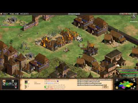 "Aoe2 HD ""The Forgotten"": 4v4 Arena (Slavs, Economic Boom)"