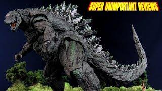 SH MonsterArts Godzilla 2017 - Anime Netflix Kaiju Figure Review