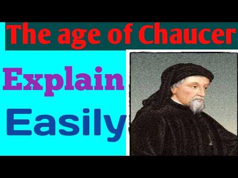 GEOFFREY CHAUCER REPRESENTIVE POET OF 14th Century?