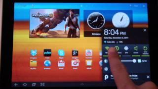 Galaxy Tab 10.1 review Arabic Prart 1 - معاينة جالكسي تاب 10.1 الجزء 1