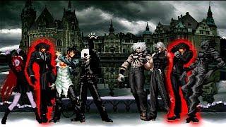 [KOF Mugen] YamiKawaii Team VS Darkside Team (Daniel Alanis Team)