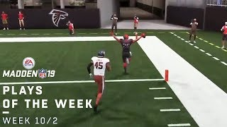 Top Madden 19 Fan Plays of the Week! (10/2)