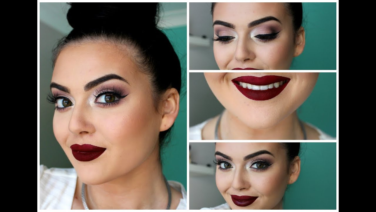 Sultry Formal/ Prom Makeup Tutorial ♡ - Claire Howell - YouTube