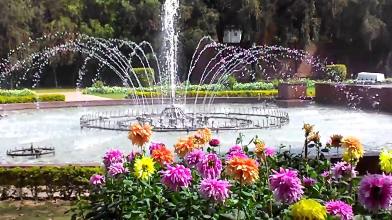 Mughal Garden 2016 The Beautiful Fountain
