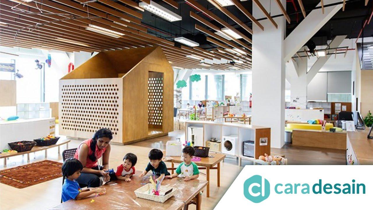 10 Contoh Desain Interior Ruang Kelas Anak Paling Keren  YouTube