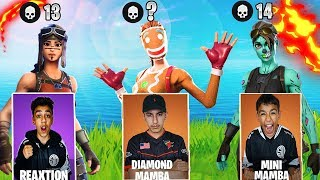 Intense Fortnite Kill Race Challenge Against Brothers! Winner Get's Prize!