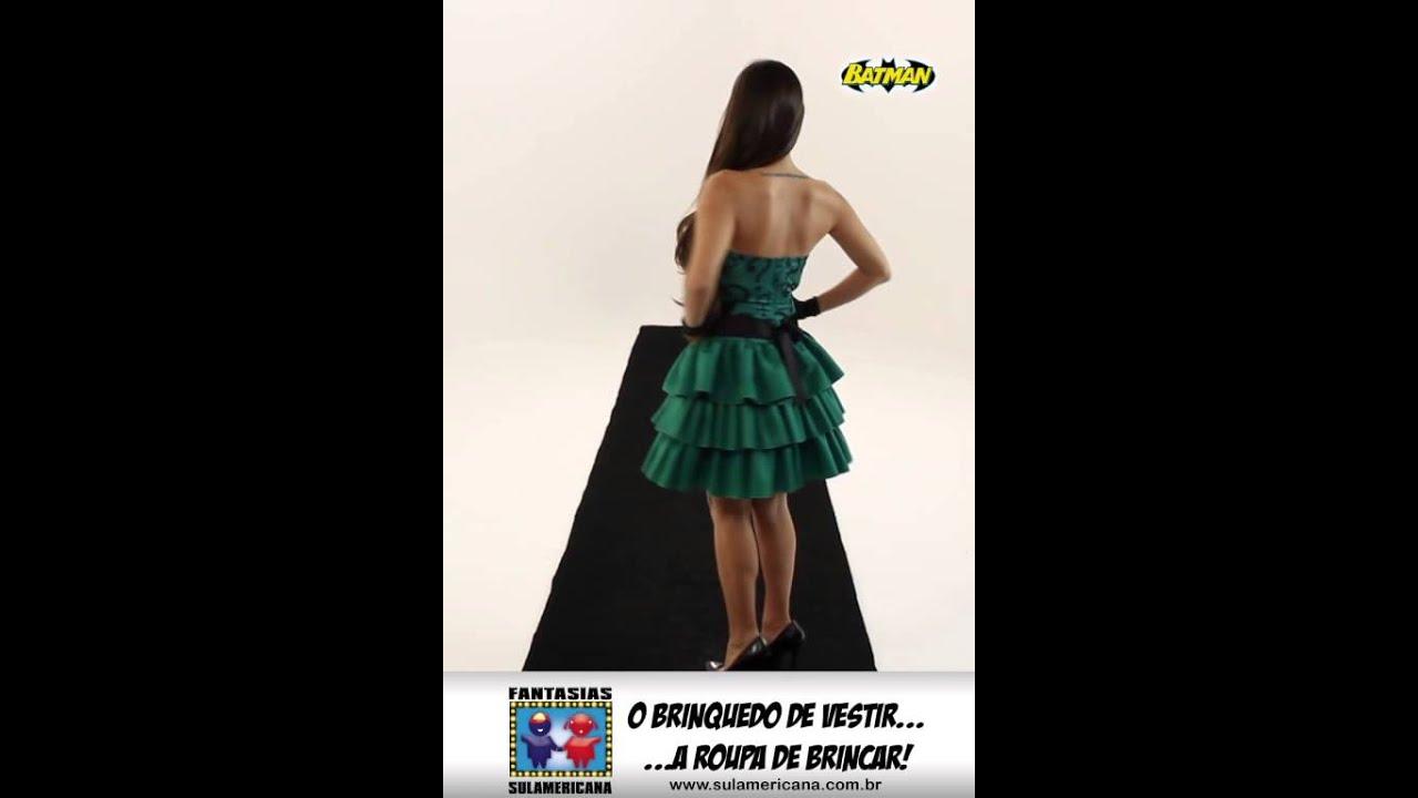 561b702b4 60179 - Fantasia Charada Feminina - YouTube
