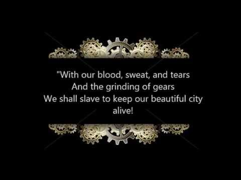 The Cog Is Dead: Blood Sweat and Tears Lyrics