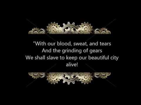 The Cog Is Dead: Blood Sweat and Tears Lyrics