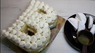 Торт Буква Цифра рецепт