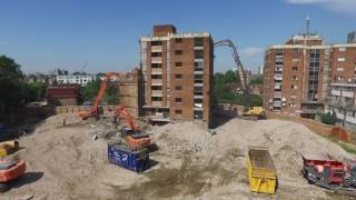 Flying High in the Skies above Downwell Demolition Projects