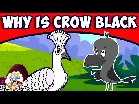 WHY IS CROW BLACK? - Fairy Tales In English   Bedtime Stories   English Cartoons   Fairy Tales