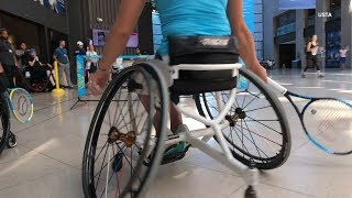 Wheelchair Tennis Players Inspire Everyone While Playing U.S. Open Courts