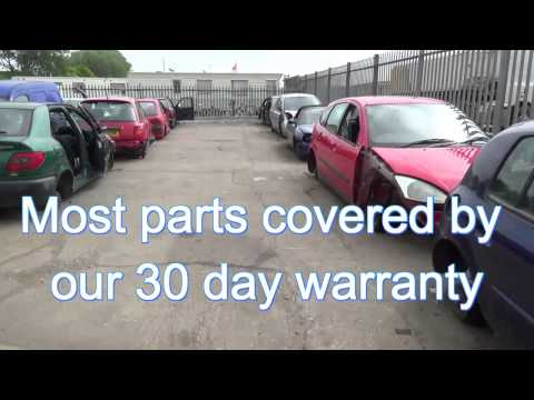 J Davies Salvage Scrap Yard Car Breakers Breaking Melton Nottingham Parts Walk Around