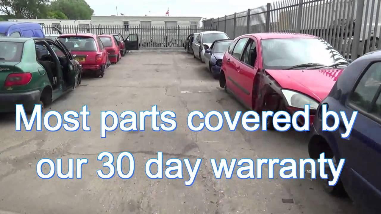 J Davies Salvage Scrap Yard Car Breakers Breaking Melton Nottingham ...