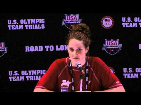 2012 U.S. Olympic Team Trials: Missy Franklin Reacts To Making Olympic Team