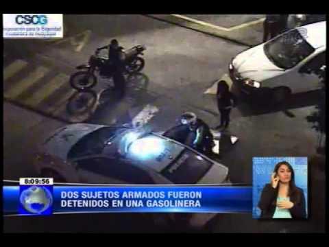Policías frustran robo en una gasolinera en el suroeste de Guayaquil