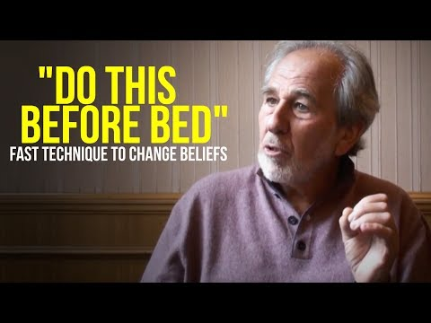 "Reprogram Your Mind While You Sleep | ""DO THIS BEFORE BED"" Dr. Bruce Lipton"