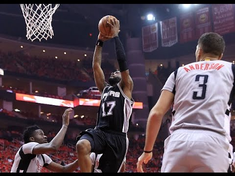 Jonathon Simmons Steps Up With A Playoff Career High in Game Six! | May 11, 2017