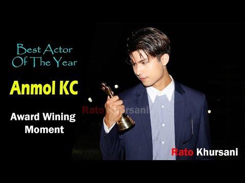 Anmol KC Award Wining Moment/ D-Cine Award/ Best Actor/Actress Anmol KC/Nita Dhungana/ Rato Khursani